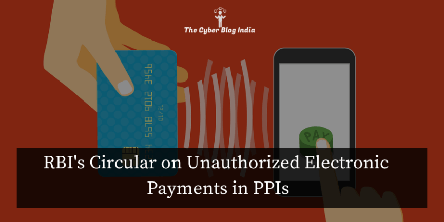 RBI's Circular on Unauthorized Electronic Payments in PPIs