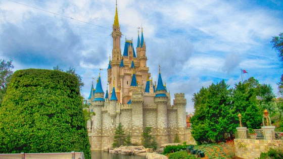 Magic Kingdom Cinderella's Castle 1-26-2017 HDR CAT
