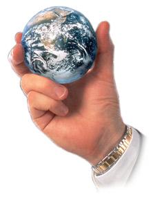 dunia dijari-jari dan ditangan anda