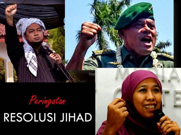 Pondok Sukorejo dan Panglima TNI, Peringati 70 Tahun Resolusi Jihad