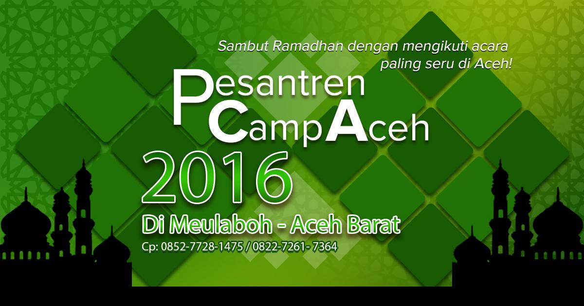 Pesantren Camp Aceh 2016