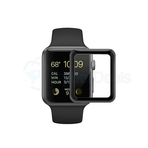 COTEetCI 4D Tempered Glass for Apple Watch Series 4 2