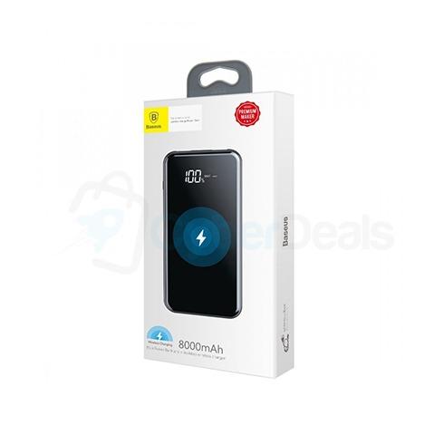 Baseus Full Screen Bracket 8000mAh Wireless Charging Power Bank 3
