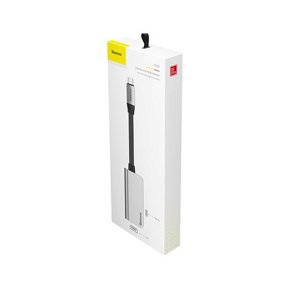 Baseus Little Box Type-C to 4K HDMI + Type-C PD Mini High-Definition Smart Hub Converter price in sri lanka buy online at cyberdeals.lk