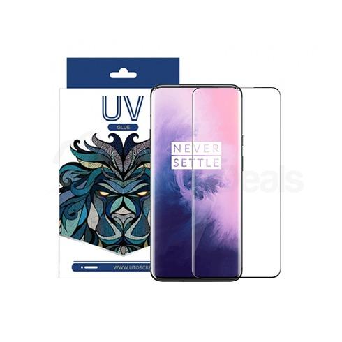 LITO UV Liquid Full Glue Tempered Glass Screen Protector for OnePlus 7 Pro 1