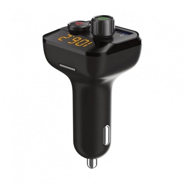 porodo wireless fm transmitter car charger 2