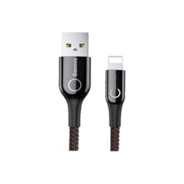 Baseus C Shaped Light Intelligent Power off Lightning Cable 2