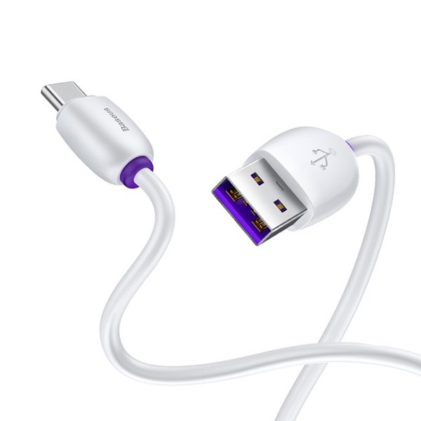 Baseus Purple Ring Flash Type C Cable 3