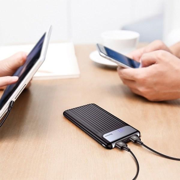 baseus thin digital dual power bank 3