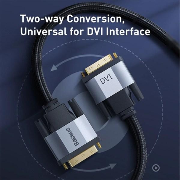 Baseus Enjoyment Series CAKSK ROG DVI Bidirectional Cable 5 3