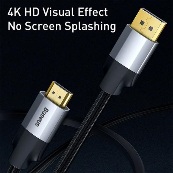Baseus Enjoyment Series Display Port to 4K 60Hz HDMI Cable 4