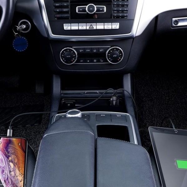 Baseus Magic Series 45W PPS Digital Display Type C PDQC Intelligent Car Charger 4