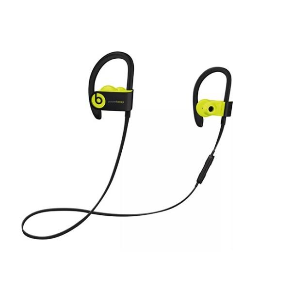 Beats Powerbeats3 Wireless Earphones Black Green