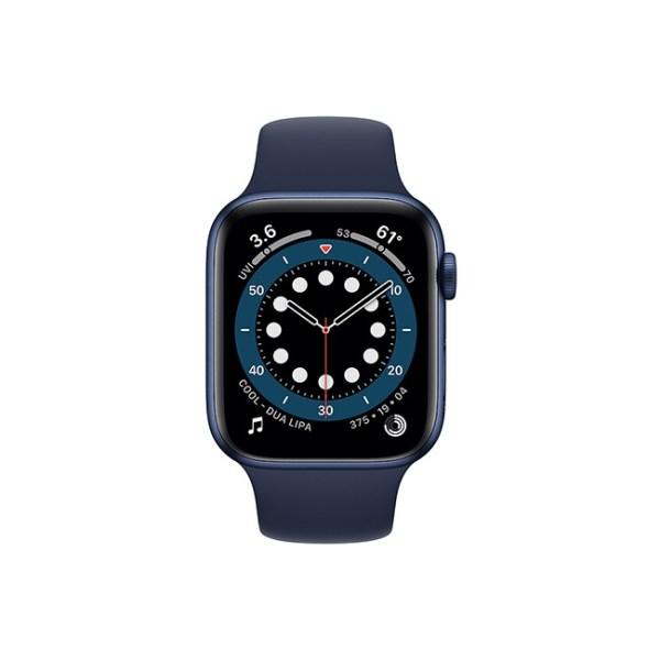 Apple Watch Series 6 44MM Blue Aluminum GPS Deep Navy Sport Band 1