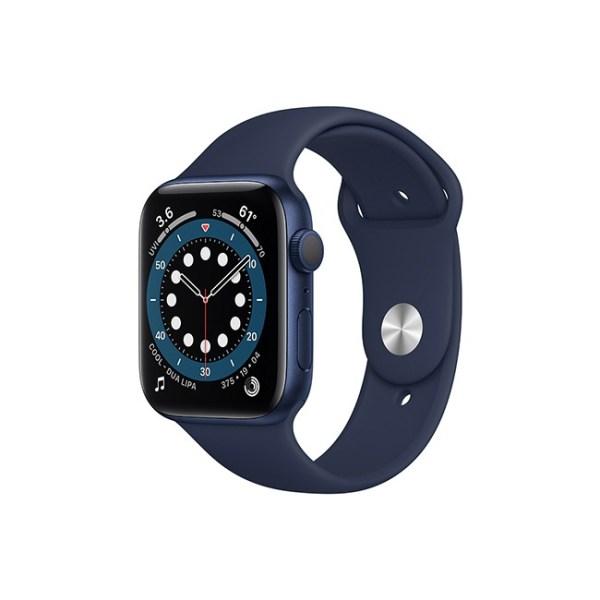 Apple Watch Series 6 44MM Blue Aluminum GPS Deep Navy Sport Band