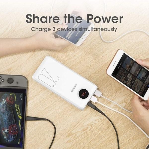 ROMOSS SW20 Pro Portable 20000mAh Power Bank 6 1