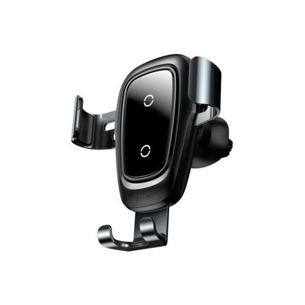 Baseus Metal Wireless Charger Gravity Car Mount Air Vent Version