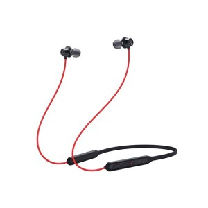 OnePlus Bullets Wireless Z Bass Edition Headphones Reverb Red
