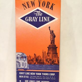 New York City Subway Map Brochure.1940s 25 Cents Norman S Simplified Maps Of New York City Subway
