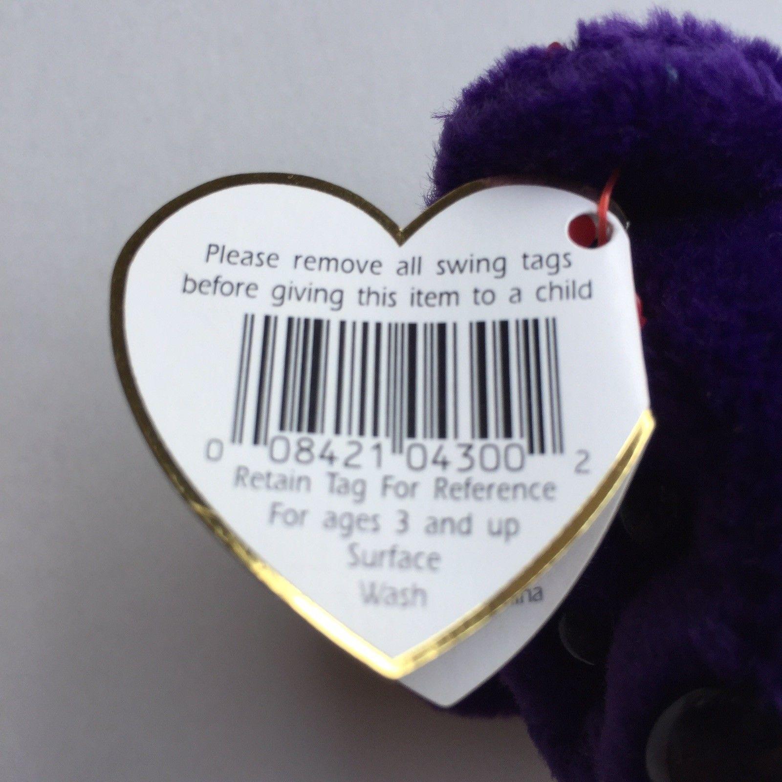 Princess Diana Beanie Baby 1st Edition Rare W Error Babies Plush