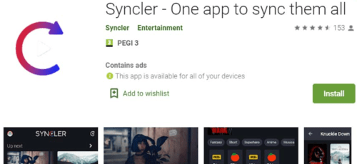 syncler android tv box