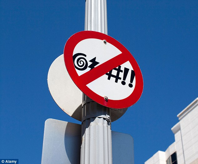No Swearing Signs At Ocean City S Boardwalk Cyber Gazing