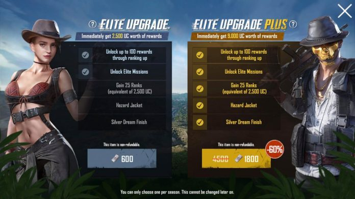 pubg season 3 packages