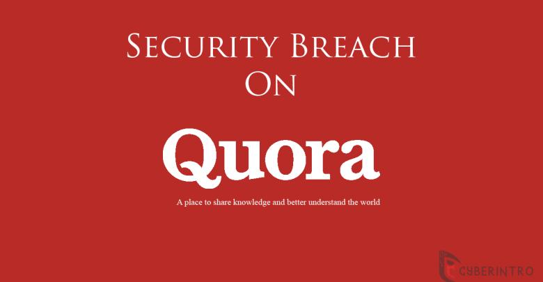 Quora security breach