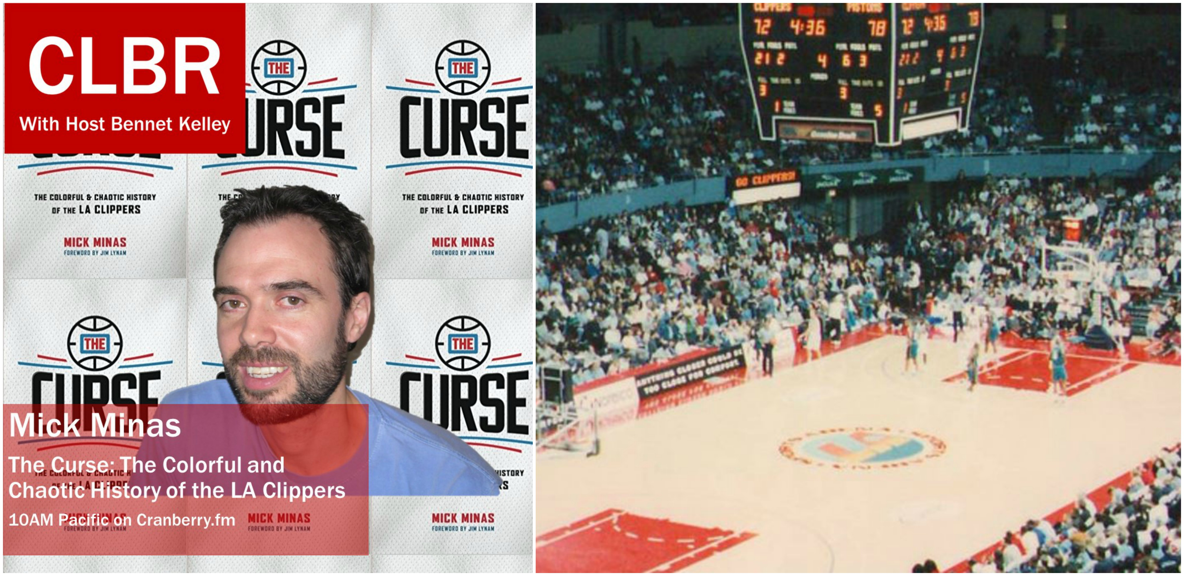 CLBR #267:  Mick Minas and the Clipper Curse
