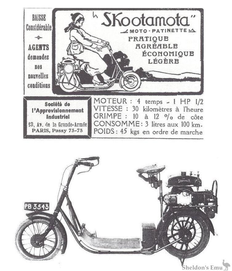 ABC Skootamota French Advert