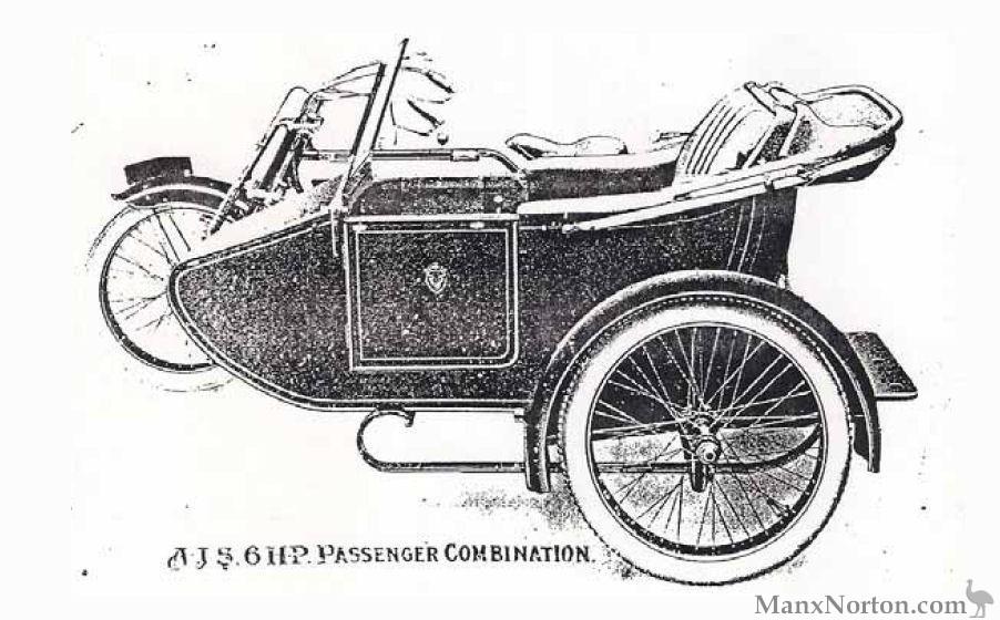 AJS 1914 Model D Combination