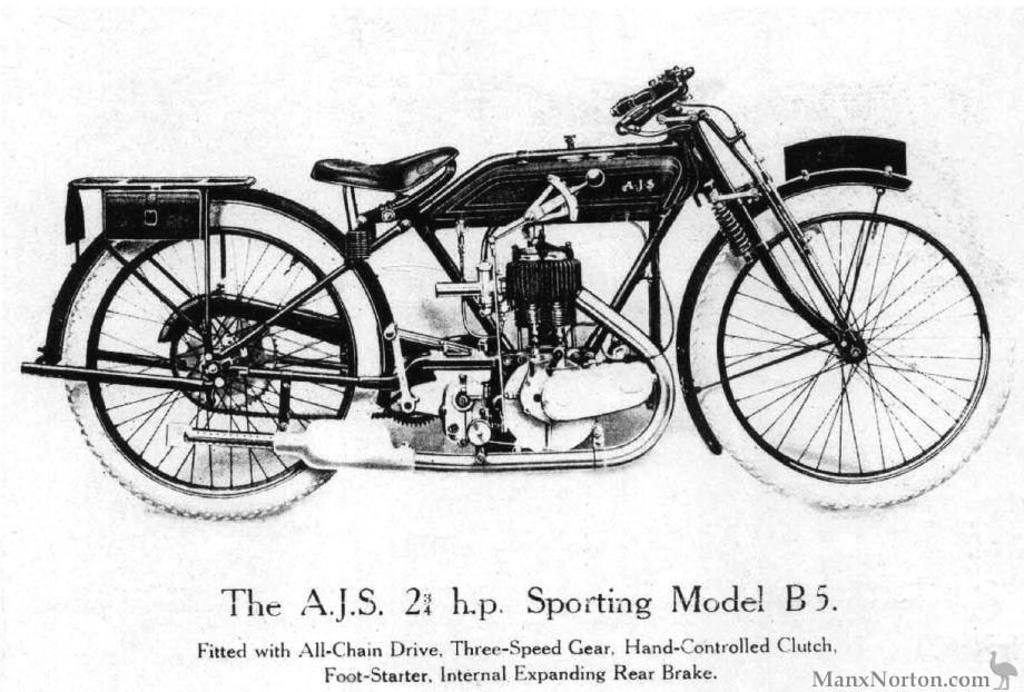 AJS 1924 Model B5