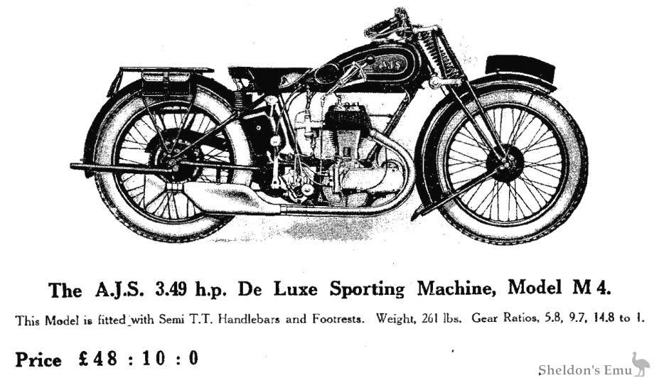 AJS 1929 Model M4