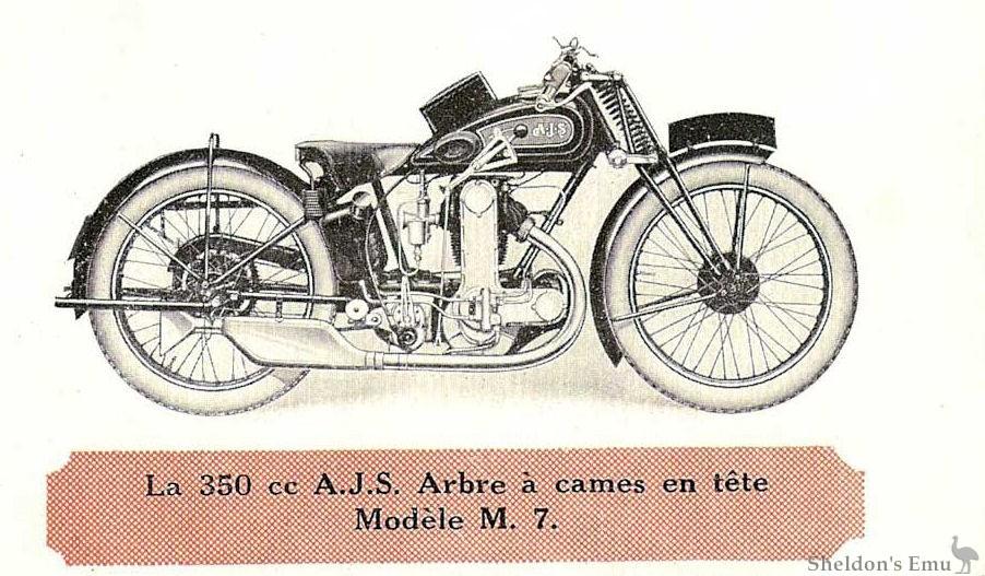 AJS 1929 Model M7