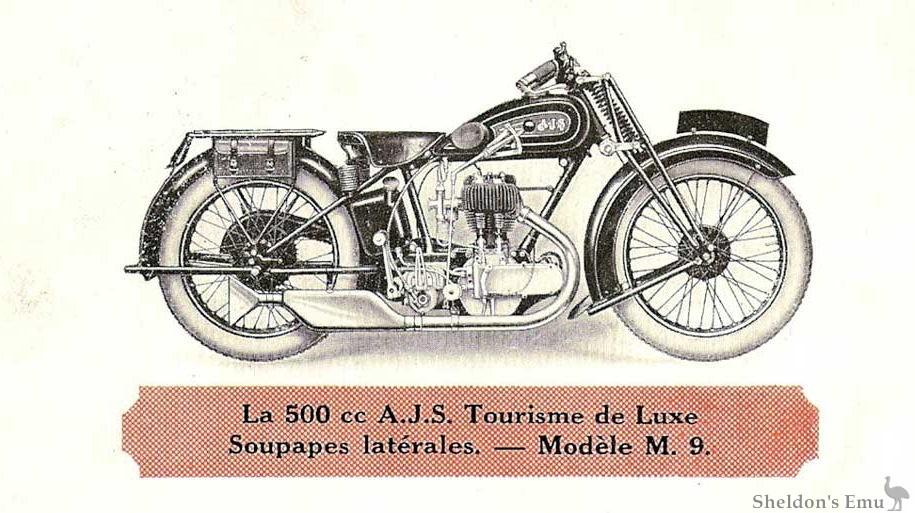AJS 1929 Model M9