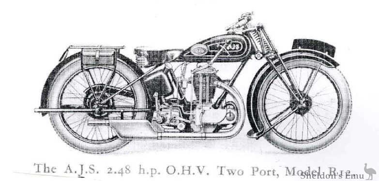 AJS 1930 R12 248cc
