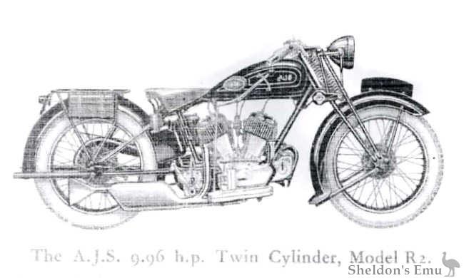 AJS 1930 R2 996cc V-Twin