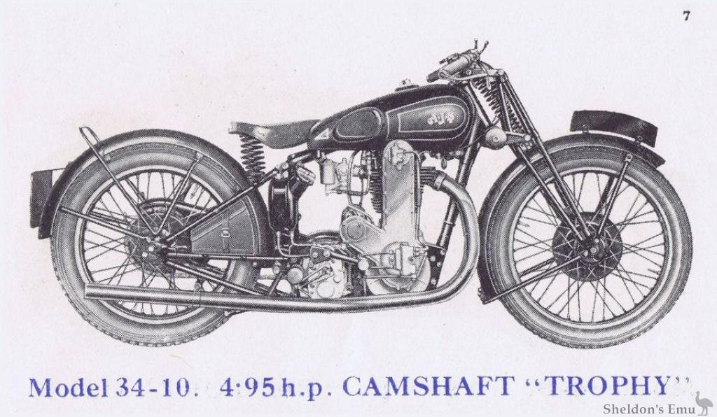 AJS 1934 Model 10