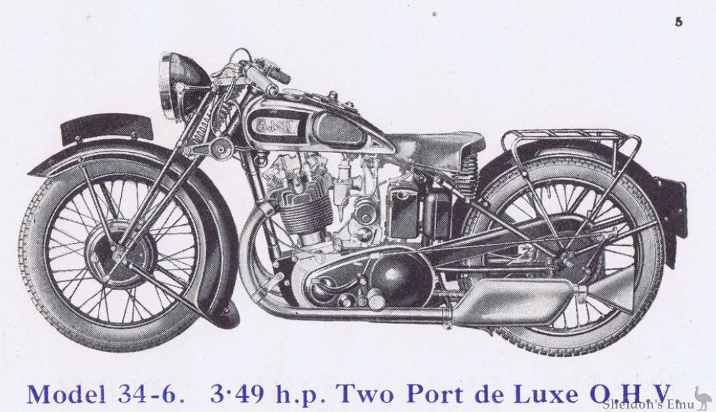 AJS 1934 Model 6