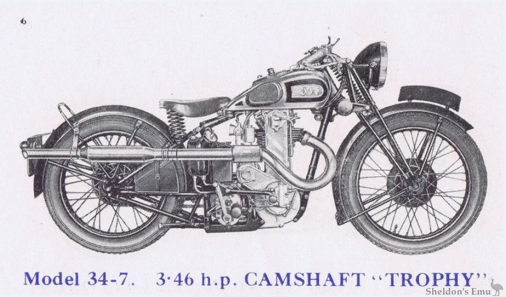AJS 1934 Model 7