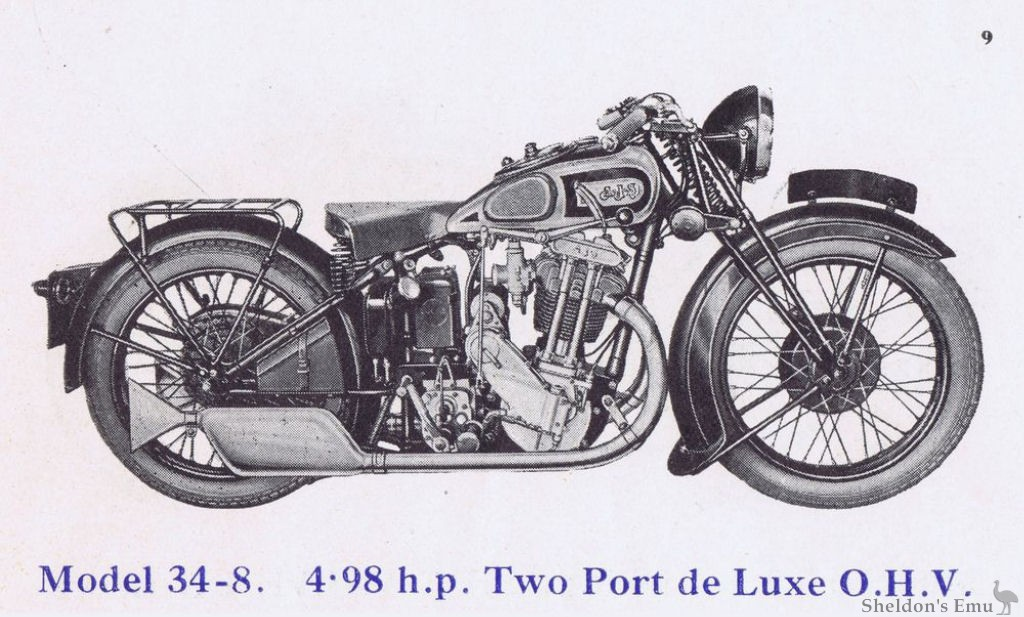 AJS 1934 Model 8