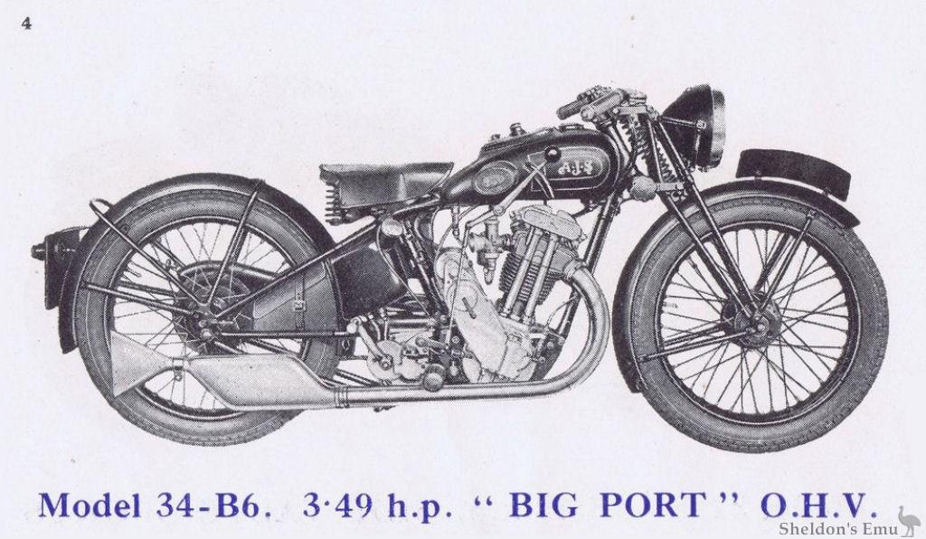 AJS 1934 Model B6