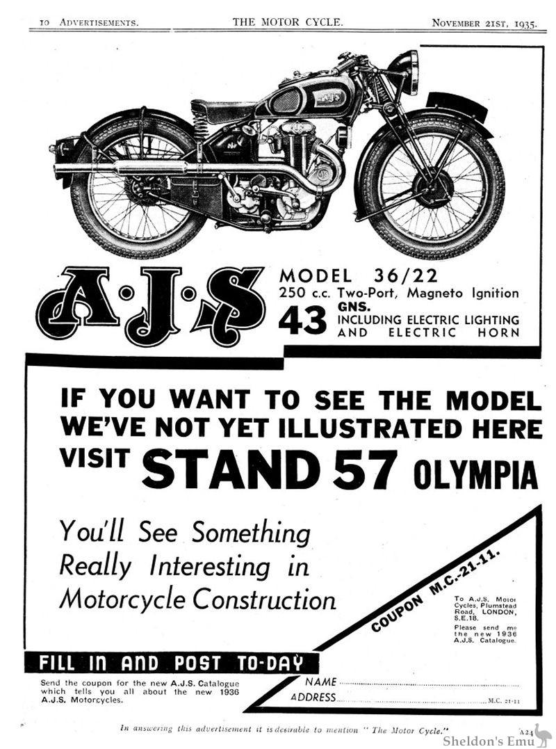 AJS 1935