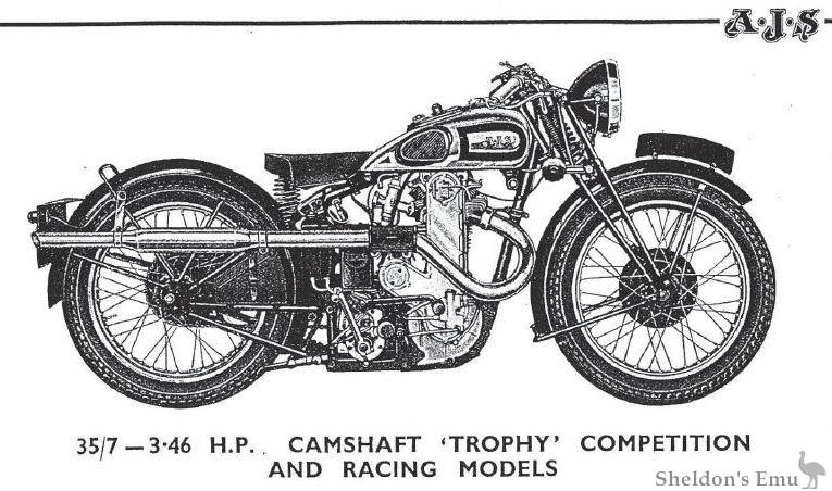 AJS 1935 Model 7