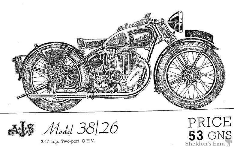 AJS 1938 Model 38-26