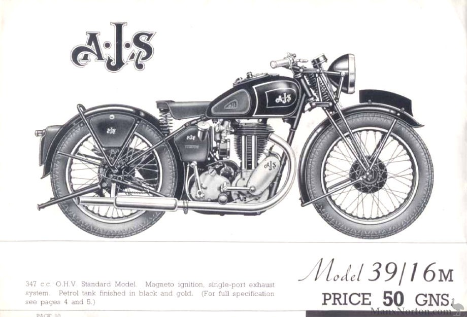 AJS 1939 Model 16M