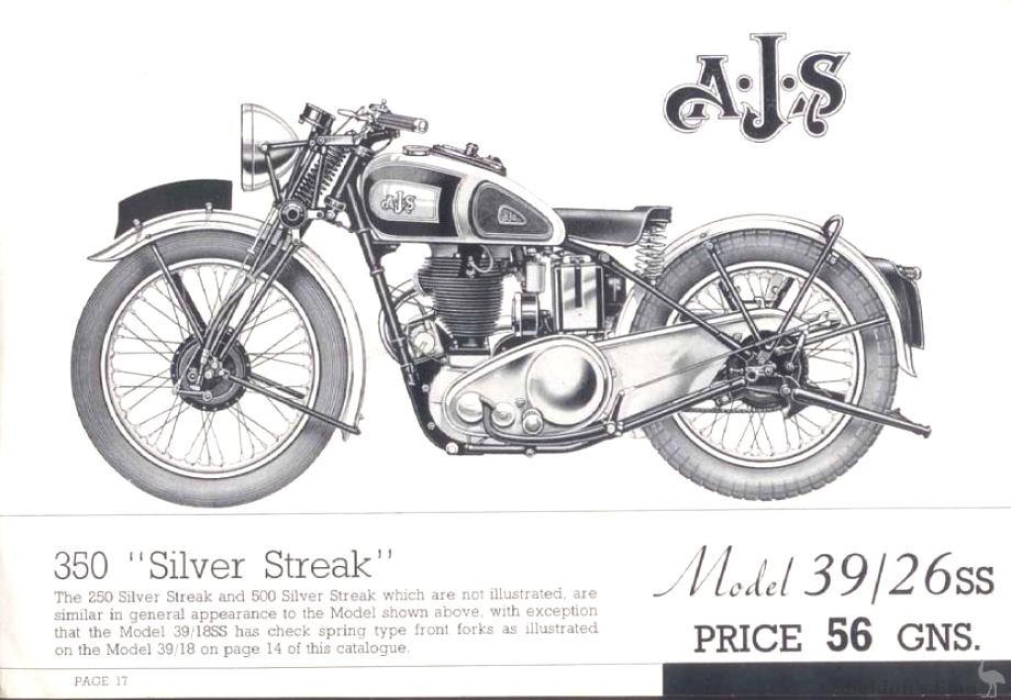AJS 1939 Model 26SS