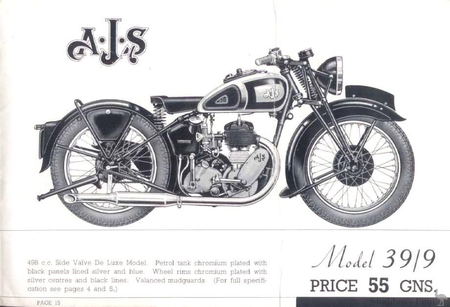 AJS 1939 Model 9