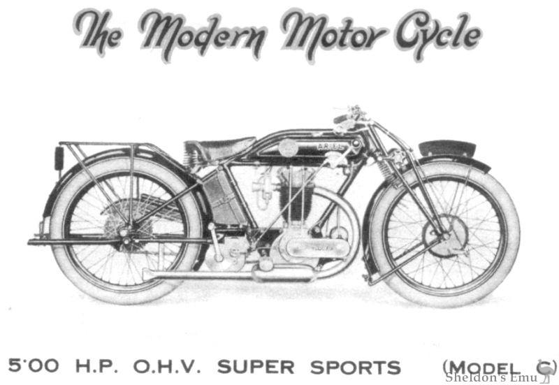 Ariel 1926 Model C