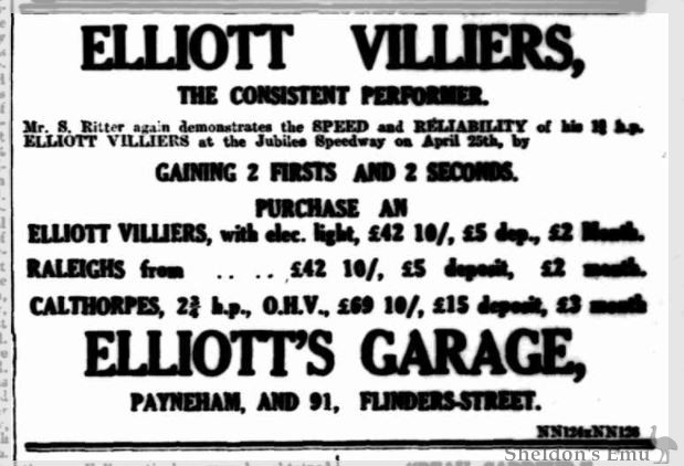Elliott Motorcycles